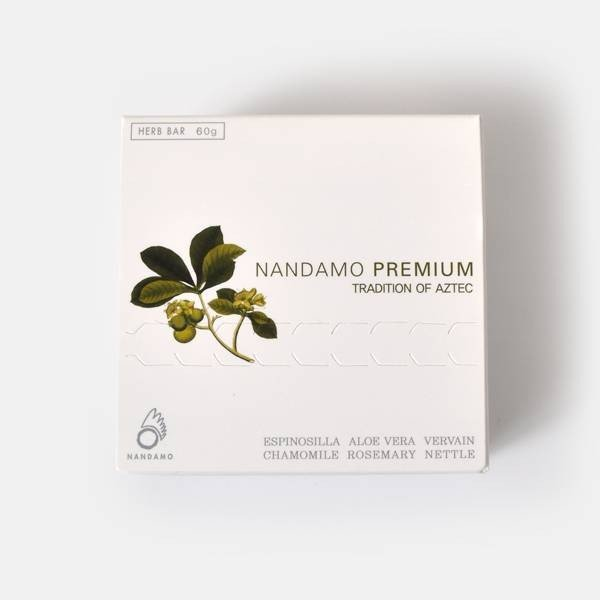 Nandamo Premium ナンダモプレミアム 100%天然ハーブの全身石鹸 Nandamo Premium 60g nandamo-60  定番商品