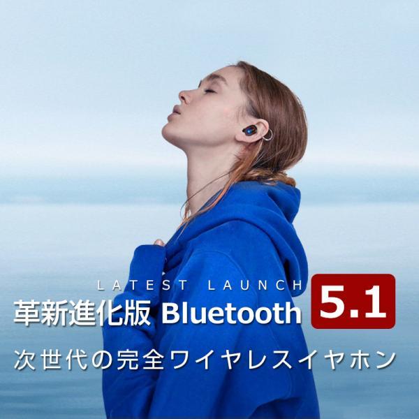 Bluetooth イヤホン ワイヤレスイヤホン Hi-Fi高音質 LEDディスプレイBluetooth5.1 350時間持続駆動 IPX7防水|aranet|03