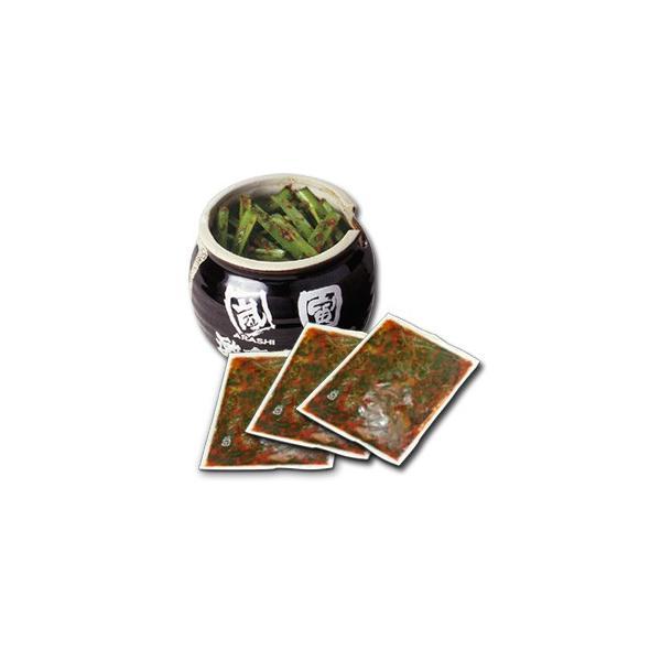 らあめん花月嵐 影の主役「激辛壺ニラ」お取り寄せ-特製壺付き(150g×3パック)-ごはんのお供/ラーメン調味料/ちょい足しトッピング|arashi-netshop|03