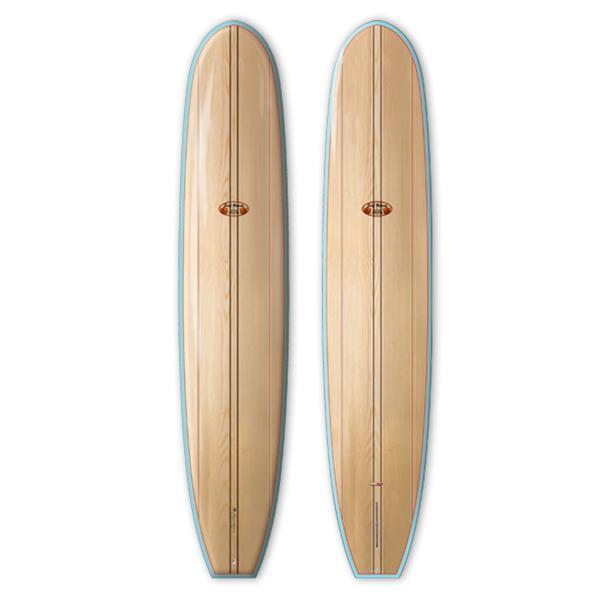 """【新品】Hawaiian Pro Designs(ハワイアンプロデザイン)MODEL T サーフボード 9'6"""" SURFTECH ドナルドタカヤマ ロングボード"""