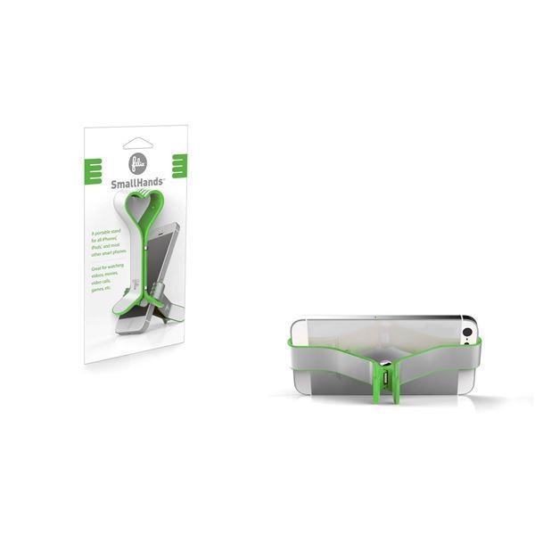 SmallHands グリーン FB101-GR スマートフォンスタンド|araya