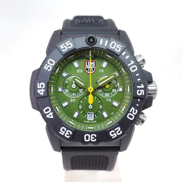 ルミノックス LUMINOX 腕時計 メンズ 3597 Navy SEALs クォーツ グリーン ブラック|araya|02