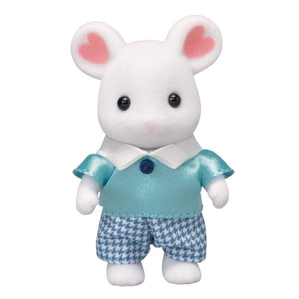 【新品】シルバニアファミリー 人形 マシュマロネズミの男の子