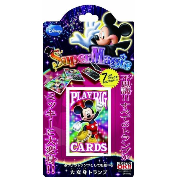 【新品】ディズニーマジック 大変身トランプ_ミッキーマウス