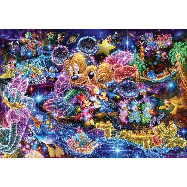 【新品】ジグソーパズル ステンドアート ディズニー 星空に願いを…1000P(51.2×73.7cm)