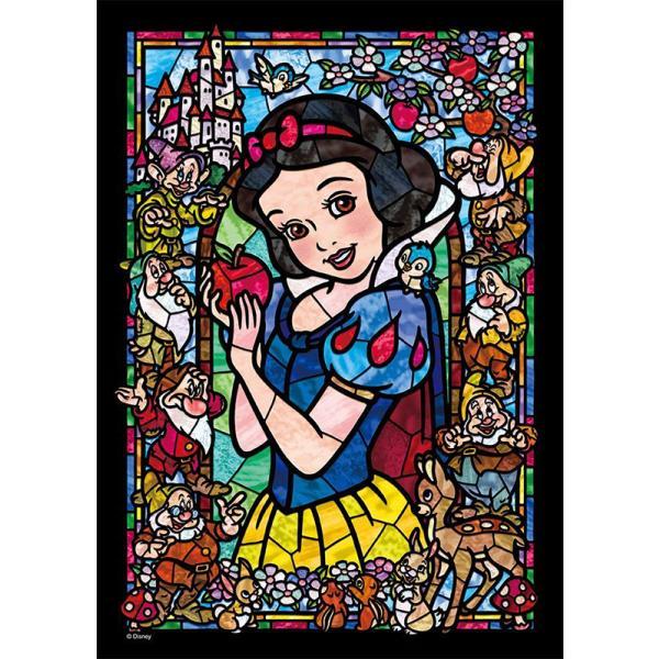 【新品】ジグソーパズル 白雪姫 ステンドグラス ぎゅっとシリーズ【ステンドアート】(18.2x25.7cm)266ピース<テンヨー>