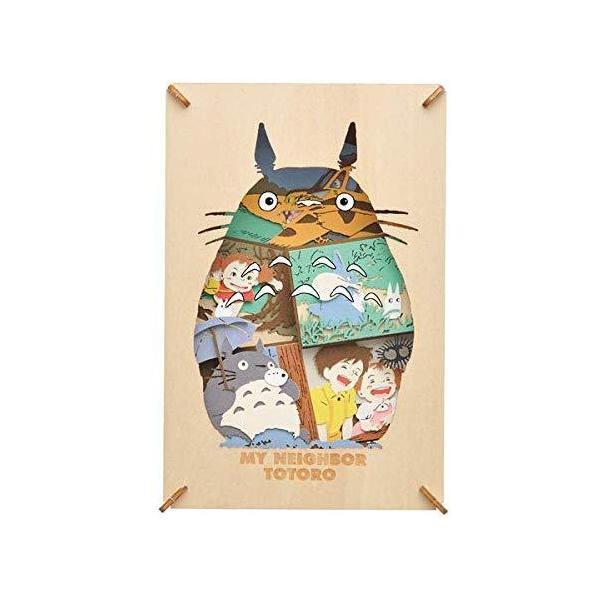 【新品】ペーパーシアター -ウッドスタイル- となりのトトロ My Neighbor Totoro [PT-WL12]<エンスカイ>