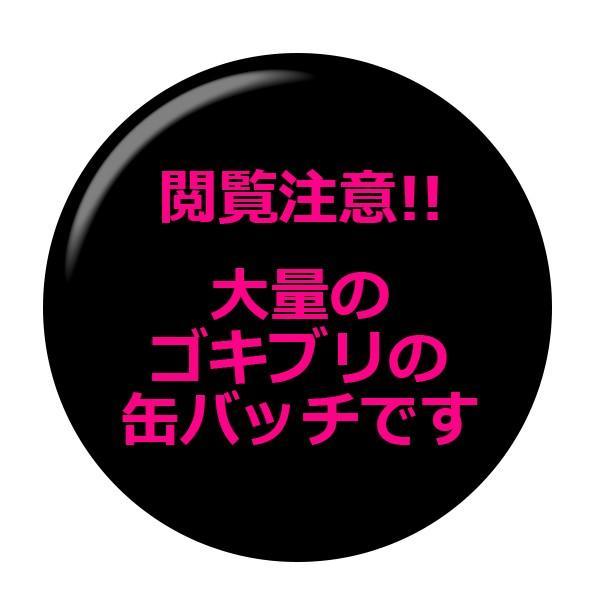 ■閲覧注意!!■昆虫缶バッジ 【ゴキブリ集合】 ボタンタイプ