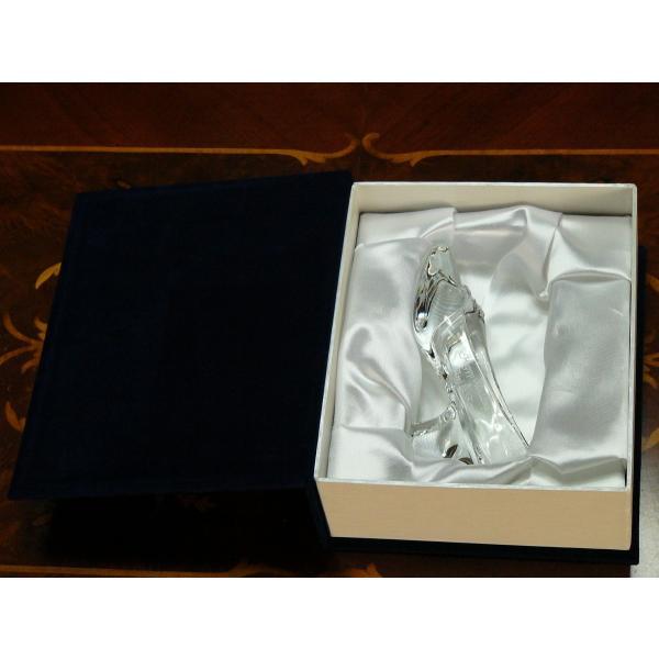 ガラスの靴 プロポーズ HappyGlassShoe 高品質クリスタル製 彫刻込 誕生日 プレゼント 記念日 arch-gift-shop 03