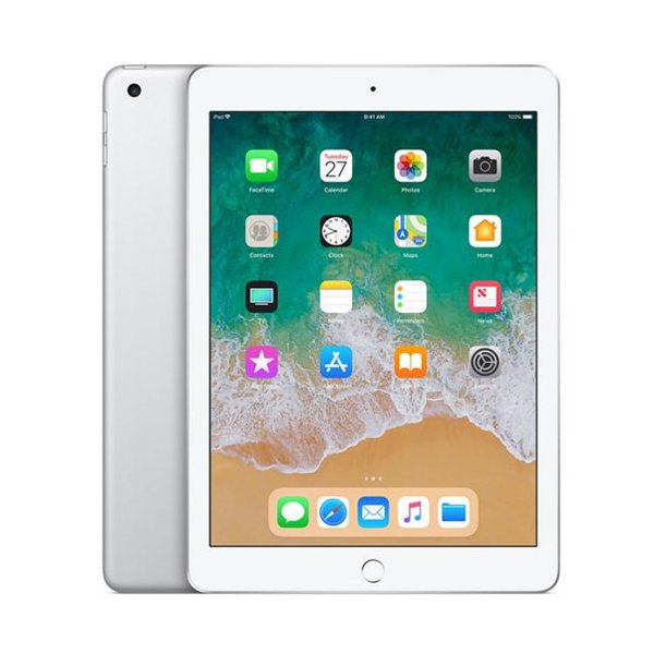 APPLE iPad WiFi128GB S 6thMR7K2J/A(iPad WiFi128GB シルバー)6th シルバーApple Pencilに対応した9.7型iPad(Wi-Fiモデル、128GB)の画像