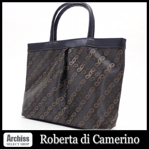 da073a8f75ed ロベルタRoberta di Camerino 焦茶ドゥーエアール小さめトートバッグ レディース S55534|archiss ...