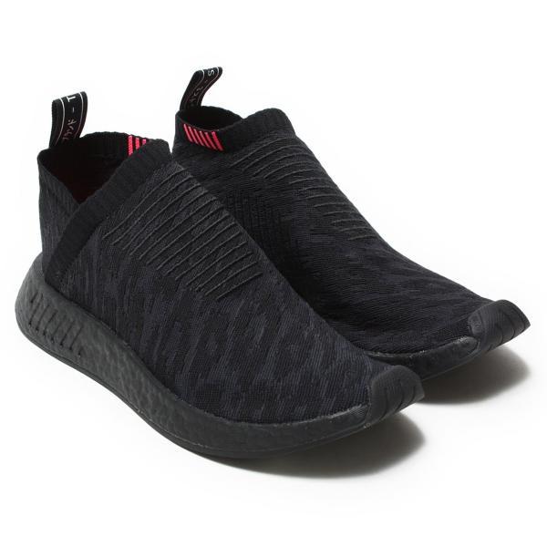 日本国内正規品 adidas オリジナルス エヌエムディー シティソック [NMD_CS2 PK] コアブラック/カーボン/ショックピンク CQ2373