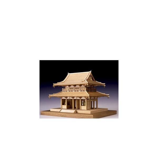 ウッディジョー木製建築模型1/150法隆寺中門