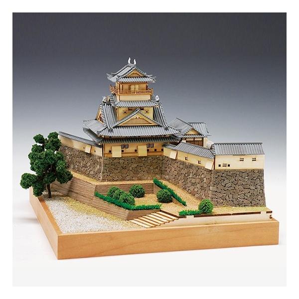 ウッディジョー木製建築模型1/150高知城