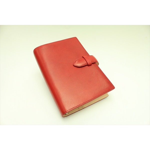 <title>※リニューアル準備中です 買収 システム手帳 ASHFORD アシュフォード キュリオ BIBLE 19mm ベルト RED 7189-044</title>
