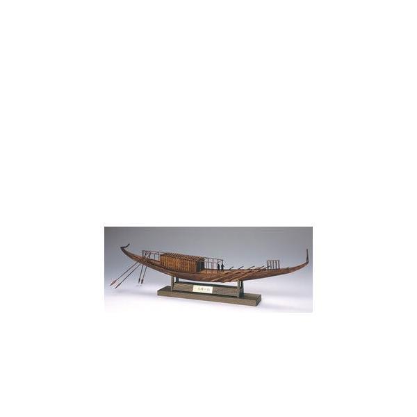 ウッディジョー木製帆船模型1/72太陽の船レーザーカット加工