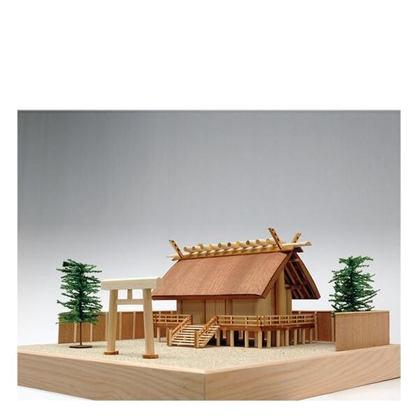 ウッディジョー木製建築模型1 新作 人気 新作製品 世界最高品質人気 150神明造り神社