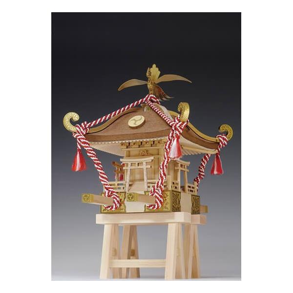 <title>高品質 ウッディジョー木製建築模型1 10ミニみこし</title>