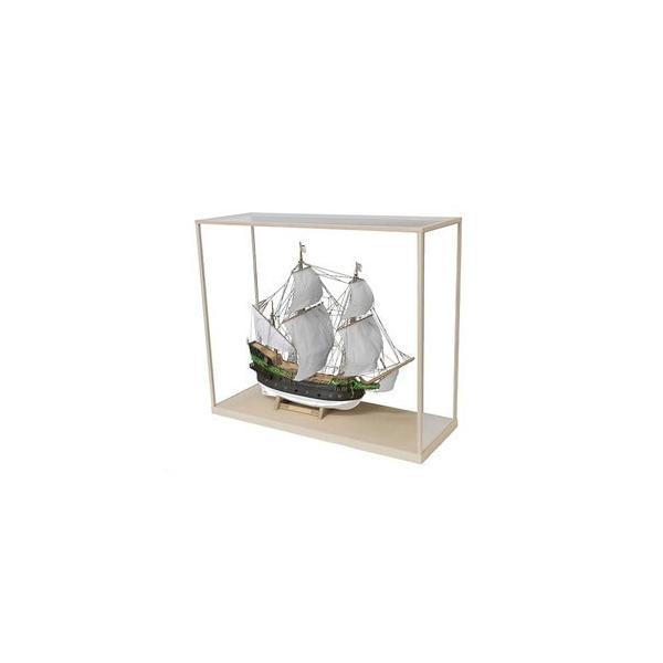 ウッディジョー木製帆船模型ケース16型ケース1 贈答 割り引き 80サン バウティスタ専用 ファン