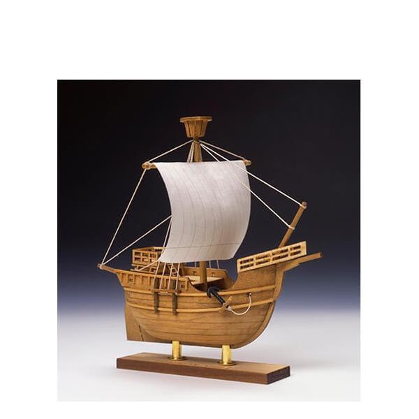 ウッディジョー木製建築模型ミニ帆船No.4カタロニア船