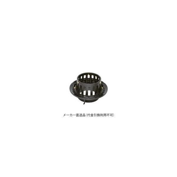カネソウ 鋳鉄製ルーフドレイン たて引き用 一般型 バルコニー中継用(呼称150) ※メーカー直送代引不可 EMB-4-150|arde