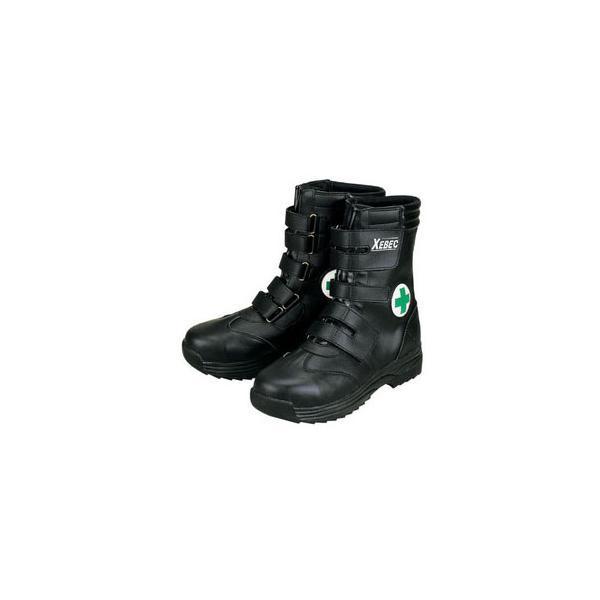 ジーベック 安全靴 ハイカット・ハイバックシューズ 29.0cm ブラック 85105