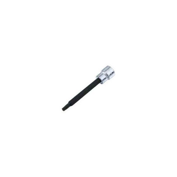SEK(スエカゲ) Pro-Autoロングスペシャルビットソケット(いじり止め穴付き)(差込角9.5mm・サイズT27)(133SL27)|arde