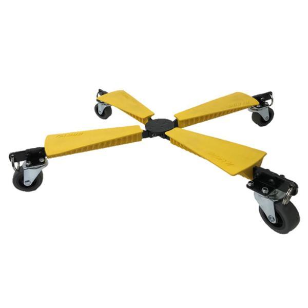 折り畳み台車 X-Cart Xカート 円錐台形に収納変形 XC0150Y 耐荷重65kg 取寄品 土牛産業 03786