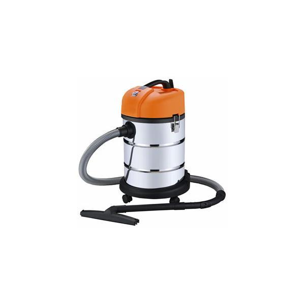 日動 業務用掃除機 乾湿両用 30L ステンレス バキュームクリーナー NVC-30L-S|arde
