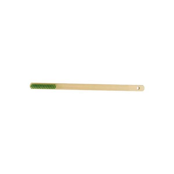 イチネンMTM ミツトモ 竹柄ブラシ 4行 直柄 ナイロン線 11101