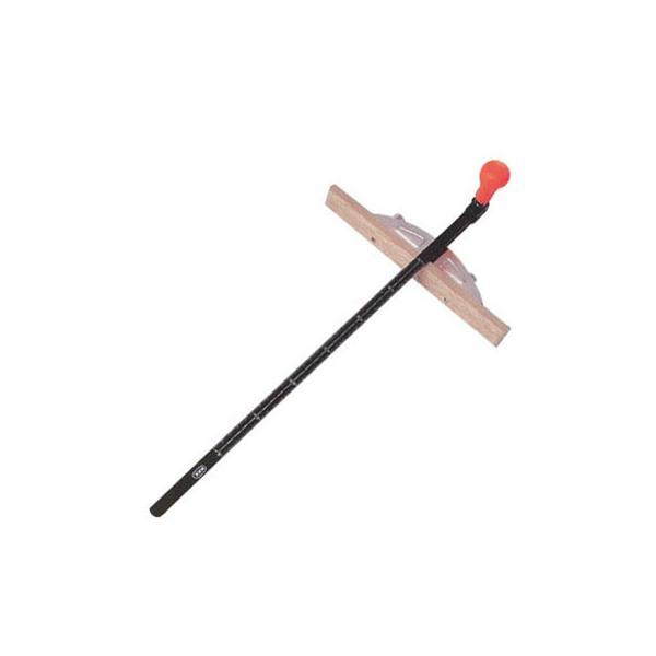 丸鋸定規・トリプルスライド(白樫羽根)300mm MKK(モトコマ) MJP-300