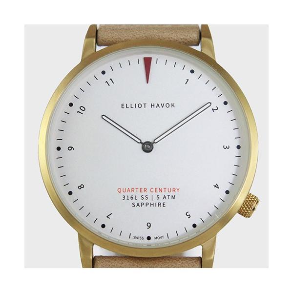 [Quarter Century Watch(QCW)] クオーターセンチュリーウォッチ 腕時計 QCW WATCH GOLD STEEL BLACK【日本公式店舗】 area-online 02
