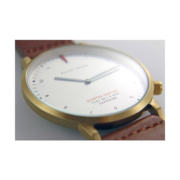[Quarter Century Watch(QCW)] クオーターセンチュリーウォッチ 腕時計 QCW WATCH GOLD STEEL BLACK【日本公式店舗】 area-online 05