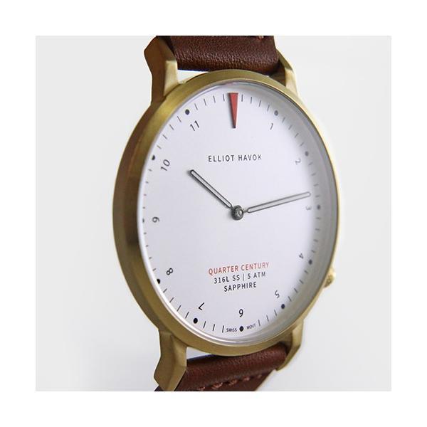 [Quarter Century Watch(QCW)] クオーターセンチュリーウォッチ 腕時計 QCW WATCH GOLD STEEL BLACK【日本公式店舗】 area-online 06