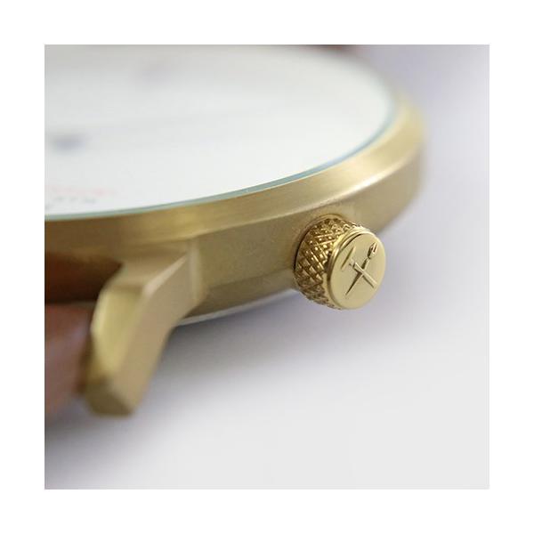 [Quarter Century Watch(QCW)] クオーターセンチュリーウォッチ 腕時計 QCW WATCH GOLD STEEL BLACK【日本公式店舗】 area-online 07