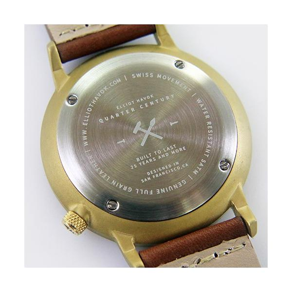 [Quarter Century Watch(QCW)] クオーターセンチュリーウォッチ 腕時計 QCW WATCH GOLD STEEL BLACK【日本公式店舗】 area-online 08