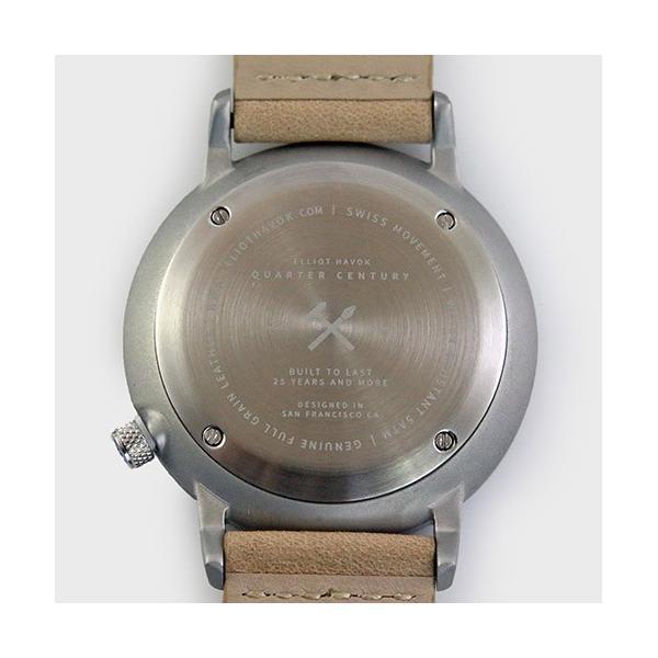 [Quarter Century Watch(QCW)] クオーターセンチュリーウォッチ 腕時計 QCW WATCH GOLD STEEL BLACK【日本公式店舗】 area-online 09