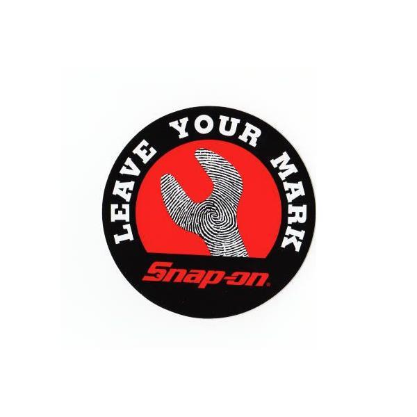 ステッカー シール デカール 車 クルマ バイク オートバイ ヘルメットに スナップオン (おしゃれ かっこいい エンブレム アメリカン 雑貨)1220