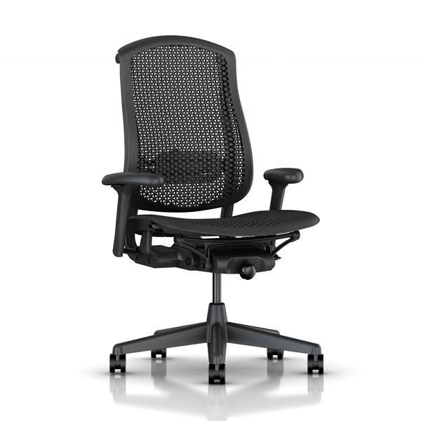 Herman Miller(ハーマンミラー) セラチェア オール グラファイト CJ133AACC AJ G1 BB G1 G1 BK(Celle Chairs all graphite CJ133AACC AJ G1 BB G1 G1 BK)