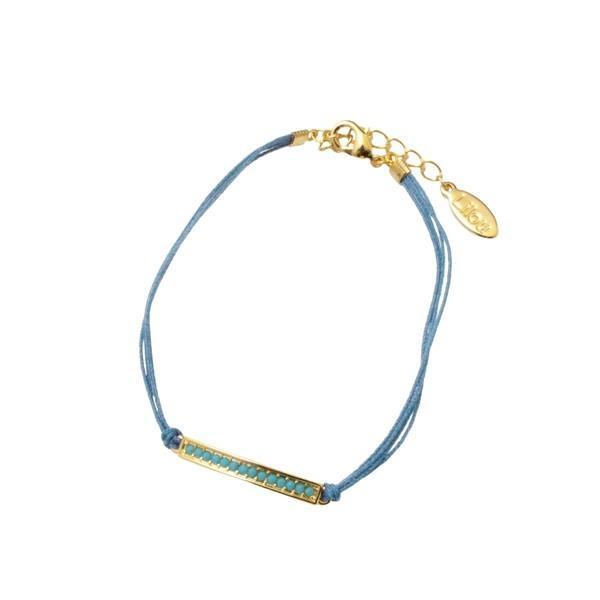 リル ターコイズ プレート アンクレット ターコイズ Lilou TURQUOISE PLATE ANKLET turquoise / おしゃれ