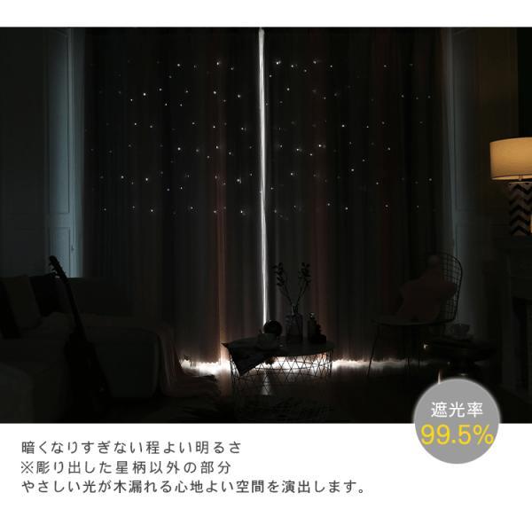 オーダーカーテン 遮光 リーフ オーダー対応 北欧 花 柄 エレガント 幅60〜100cm丈201〜260cm ariel1 05
