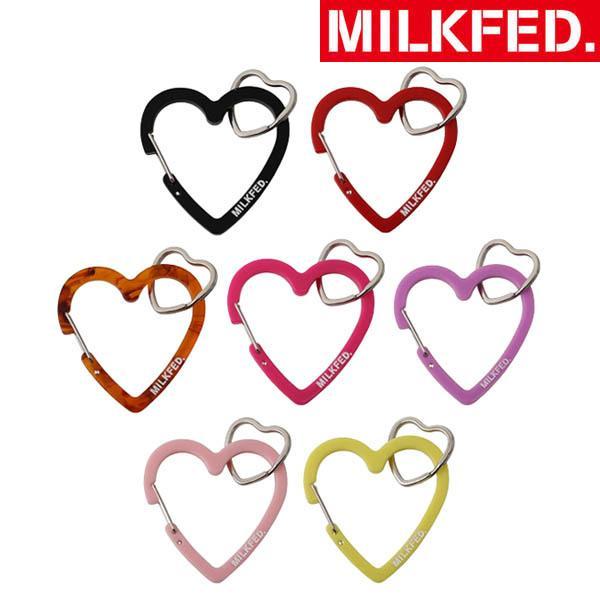 MILKFEDミルクフェドネオハートカラビナキーホルダーNEOHEARTCARABINER103211054027リュックバック