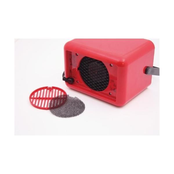 IDEA LABEL コンパクトセラミックファンヒーター Bucket2 ブラウン LOE021-BR