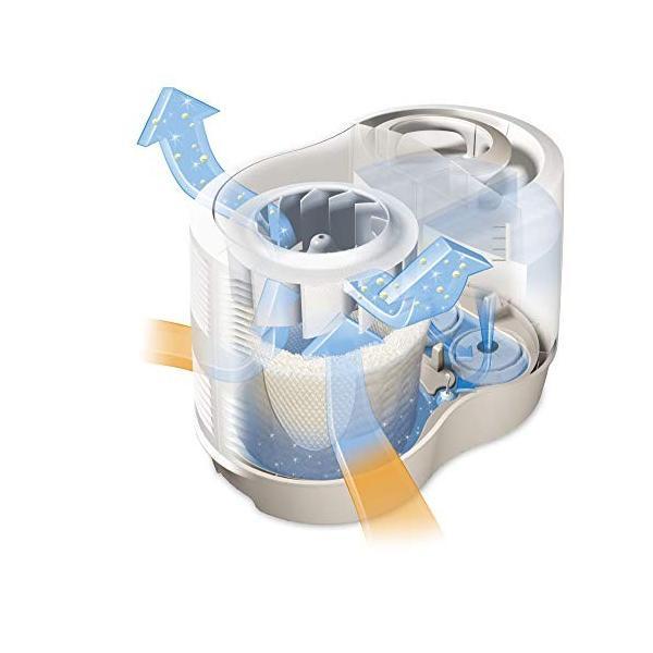 KAZ 大容量 気化式加湿器 KCM6013A 交換用フィルター 6枚付き
