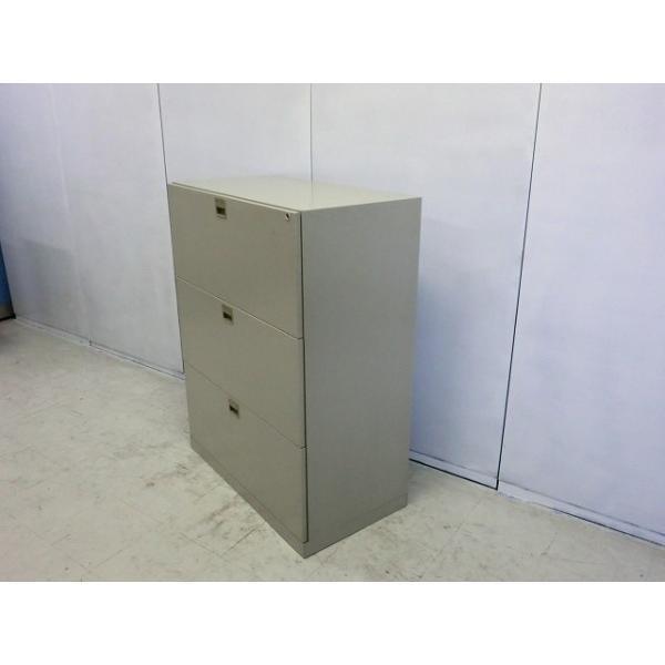 ラテラル3段 ナイキ ニューグレー  サイズ:幅900×奥行480×高さ1170mm 色:ニューグレー arigato-ya 04