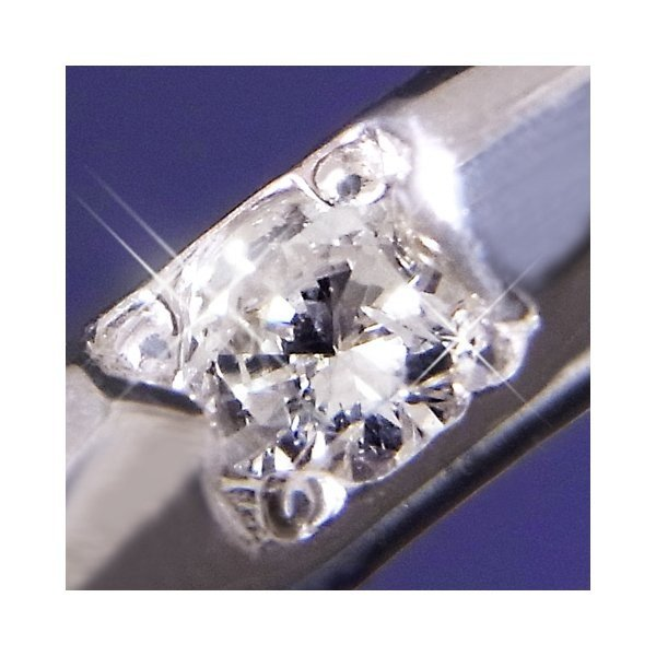 ダイヤモンド   甲丸ダイヤリング 指輪 6号 arinkurin2 03