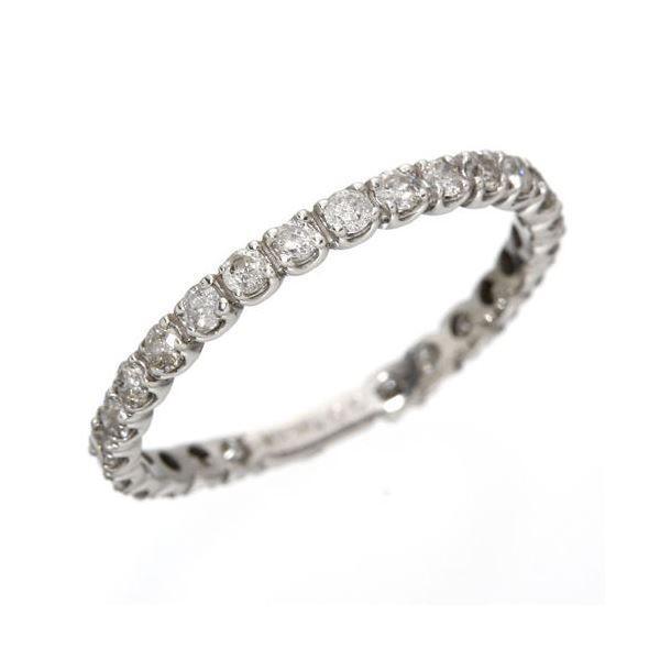 ダイヤモンド | プラチナPt900 0.5ctダイヤリング 指輪エタニティリング 19号|arinkurin2|02