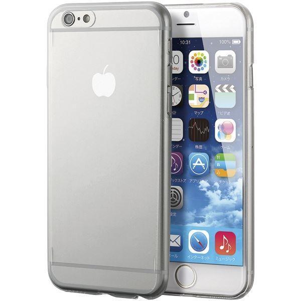 エレコム iPhone 6s/6用ウルトラスリムシェルカバー/クリア PMA15DBCR|arinkurin2|02