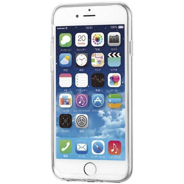 エレコム iPhone 6s/6用シリコンケース/極み/パーフェクトクリア PM-A15SCTCR|arinkurin2|04