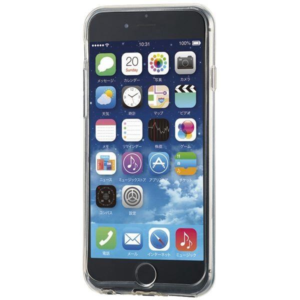 エレコム iPhone 6s/6用シリコンケース/極み/パーフェクトクリア PM-A15SCTCR|arinkurin2|06